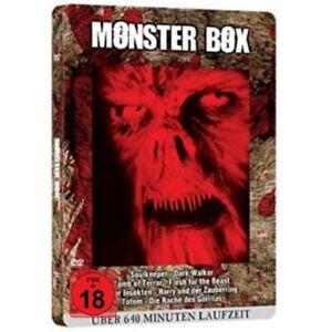 Monster-Horror-Blutbox-Metallbox-Edition-8-Filme-Kreaturen-DVD-NEU