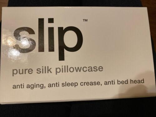 Slip Pure Silk Pillowcase~Queen/ Standard~ White SAMEDAY SHIPPING ✈️