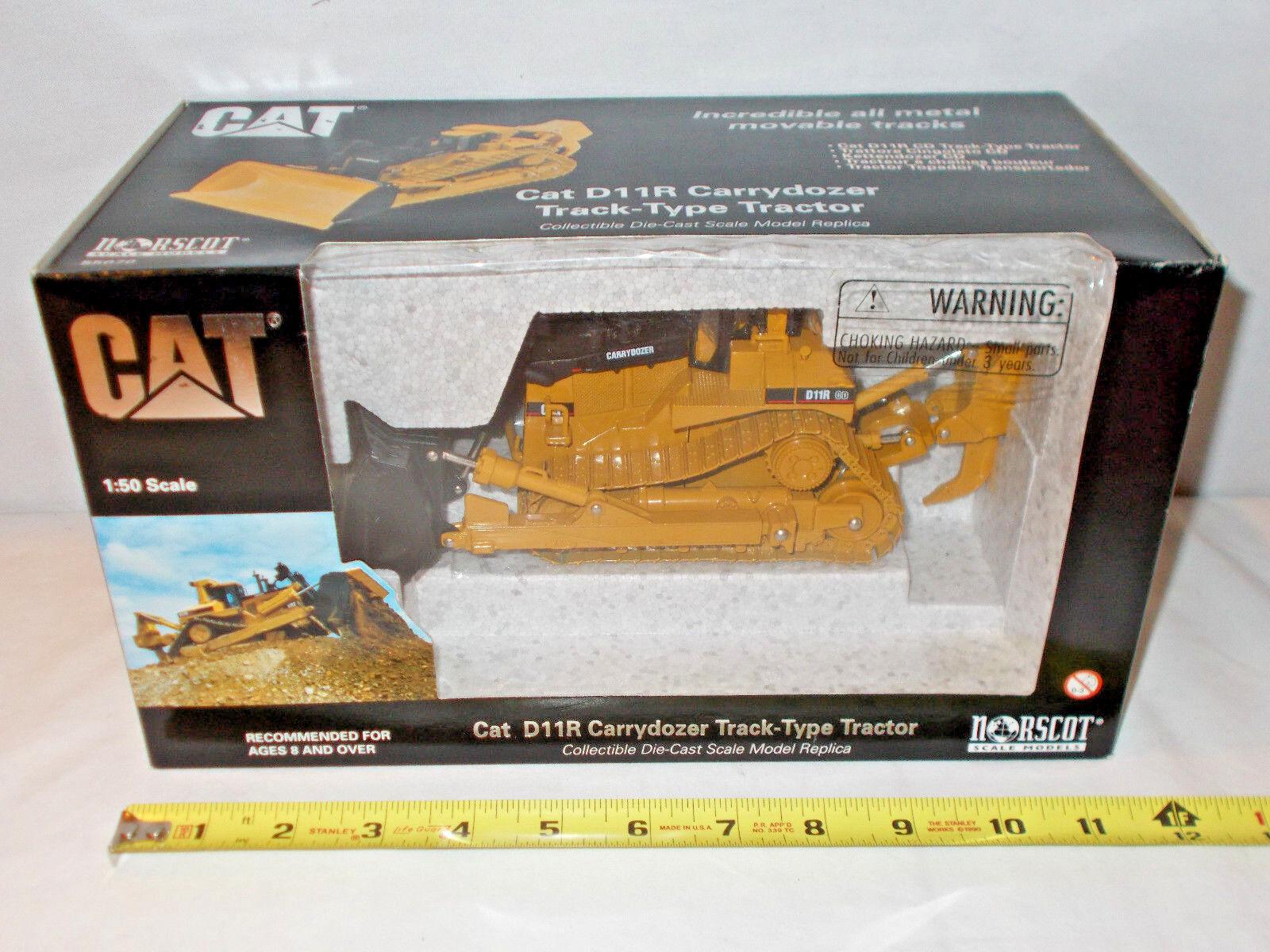 Caterpillar D11R carrydozer avec lame & Ripper dans boîte noire par Norscot
