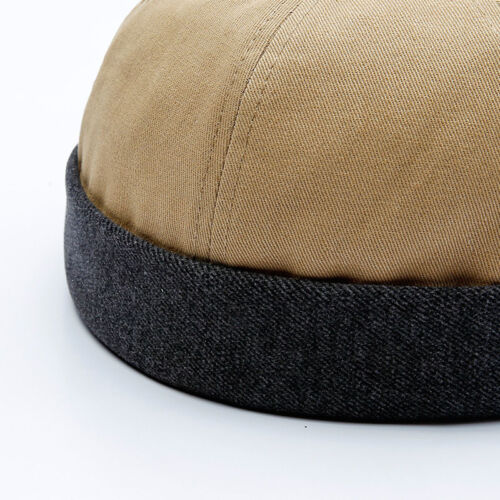 Men Winter Hat Warm Hip Hop Cotton Autumn Melon Hat Innocent Curling Sailor Cap