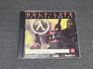 Half-Life Counter Strike PC Game Korean Version Windows CD ROM Rare