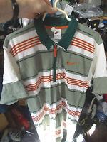 Nike Vintage Tennis Shirt Tennis Shirt 36/38 Inch At £16 Generous Size