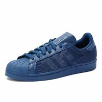 Adidas Superstar Triple Trainers - Blue