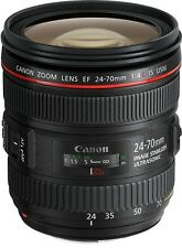 Canon EF 24-70mm f4L IS USM Standard Zoom Lens 6313B005AA, London
