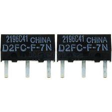 2x OMRON D2FC-F-7N passend für Razer DeathAdder Chroma Naga Hex V2 Mamba Taipan