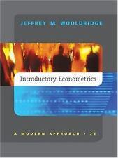 Introductory Econometrics: A Modern Approach, Wooldridge, Jeffrey, Good Book