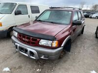 2002 Isuzu Rodeo just in for parts at Pic N Save! Hamilton Ontario Preview
