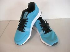 Men's Reebok Classic UL 6000 athletic, cage running shoes, neon blue, size 9