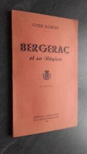 Guide-Dibujado-Bergerac-Y-Su-Region-1953-Postal-Escondido-ABE