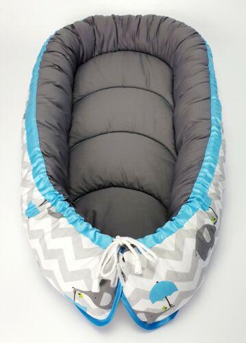 Baby Nest Pod Cocoon Cojín Cama Infantil dormir reversible más barato de alta calidad
