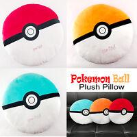 Pokemon Ball Plush Pillow Toys Gifts