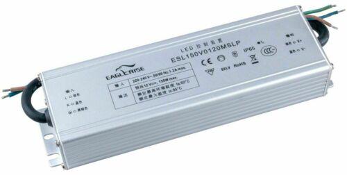 Eaglerise 12V LED Netzteil Trafo Treiber Driver 150W mit Konstantspannung IP65