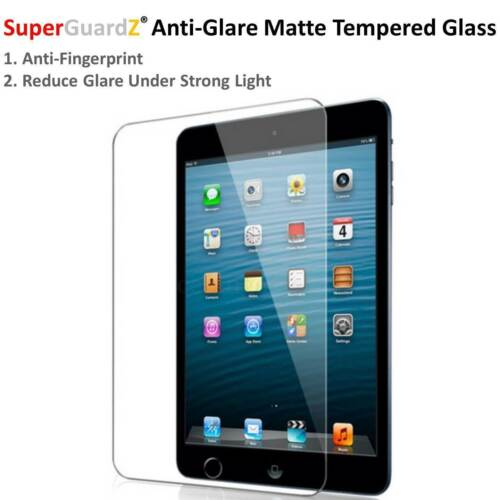 1 SuperGuardZ® Tempered Glass iPad Air 2 Screen Protector Anti-Glare Matte