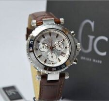Authentic Luxury Guess Collection Gc Diver Chic X58005g1s Men´s Silver  Watch