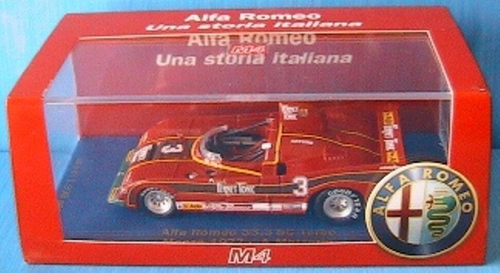 ALFA ROMEO 33.3 SC TURBO MONZA 1977 MERZARIO M4 1 43 race GP COURSE