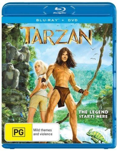 1 of 1 - Tarzan (Blu-ray, 2014, 2-Disc Set)