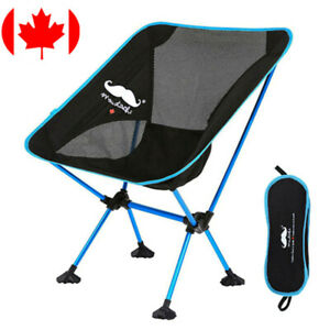 Moustache-Lightweight-Portable-Outdoor-Fishing-Camping-Moon-Chair-Blue