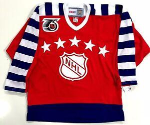 STEVE YZERMAN 1992 NHL ALL STAR GAME CCM VINTAGE JERSEY DETROIT RED ... dc67bad1b