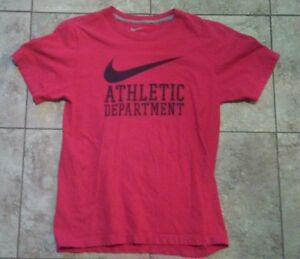 MEN-039-S-SMALL-RED-NIKE-SHIRT-MINT-CONDITION