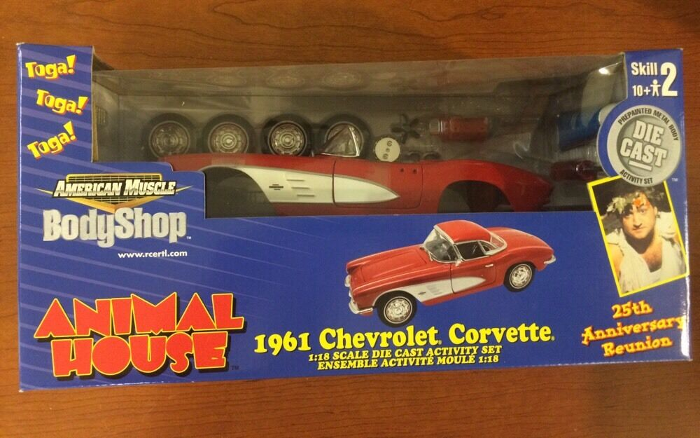 ERTL American Muscle Body Shop  animal house 1961 CHEVROLET CORVETTE 38136 nouveau IN BOX  service attentionné
