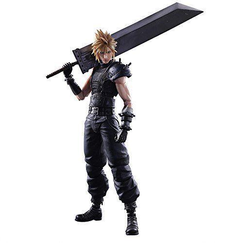 Square Enix Final Fantasy VII Remake Play Arts Kai No.1 Cloud Strife from Japan