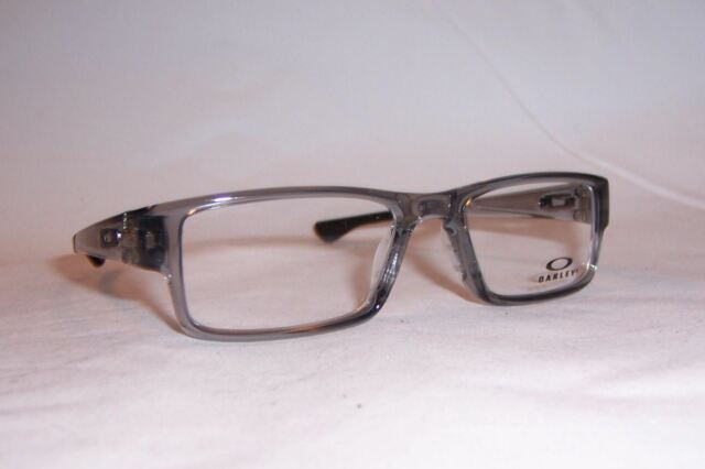 NEW OAKLEY EYEGLASSES AIRDROP OX 8046 8046-03 GRAY 53mm RX AUTHENTIC 804603