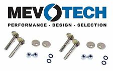 Chrysler Dodge Fiat Ford Set of 4 Front Alignment Camber Bolt Kit Pair Mevotech