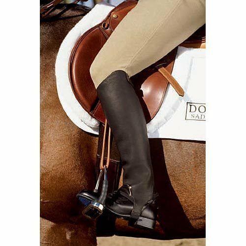 ARIAT CLOSE CONTACT CHAPS LEATHER GAITERS COMPETITION HALF CHAP SALE