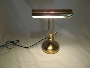 Prime Details About Vintage Brass Piano Lamp Double Adjustable Arm Bankers Desk Lamp Works Great Download Free Architecture Designs Xaembritishbridgeorg