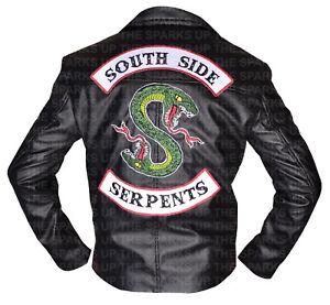 Akira Kaneda Embroidered Capsule Biker Faux Leather Jacket