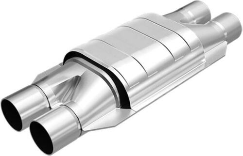 """MagnaFlow SS 2/"""" Inlet//Outlet California Catalytic Converter FOR MERCEDES #338008"""