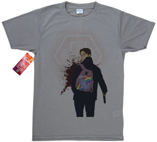 Altered Carbon Takeshi Kovacs T shirt Design Hello Unicorn