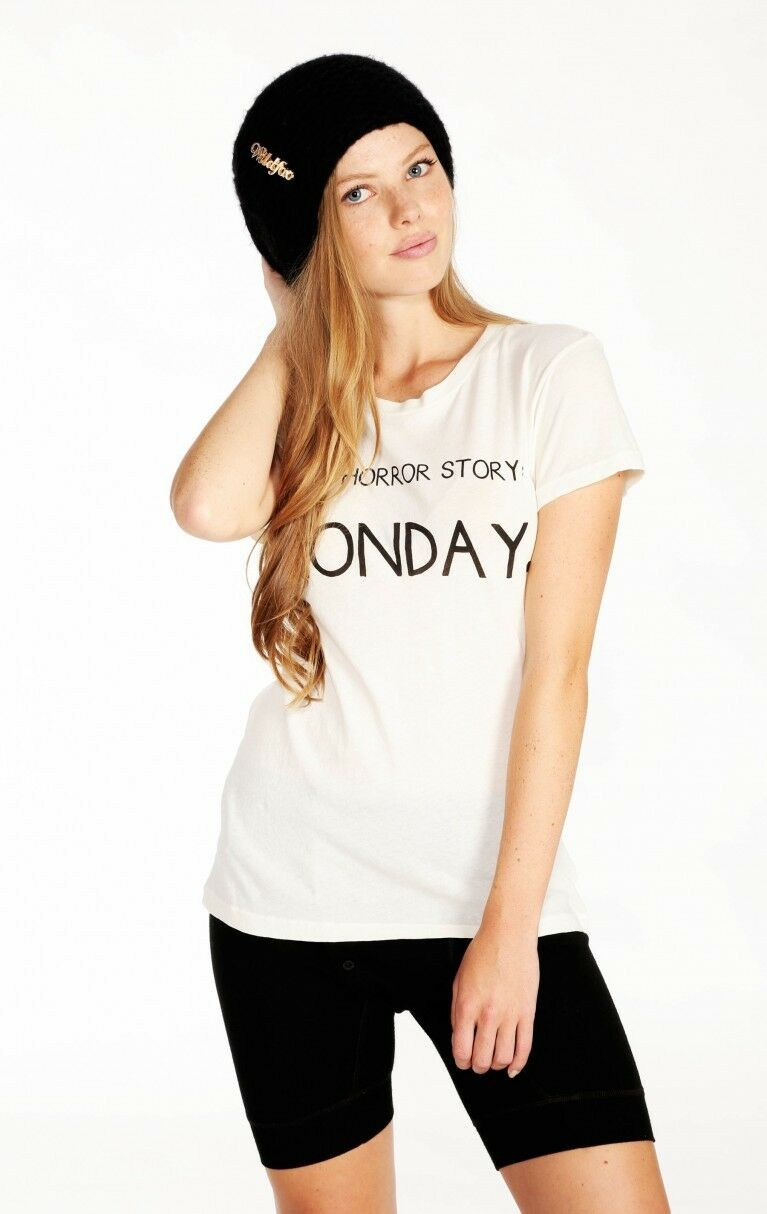 NWT Wildfox Couture - Tiny Horror Story Crewneck Tee
