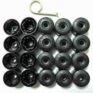 vw wheel lug nut bolt cover caps set    dismantle tool ebay