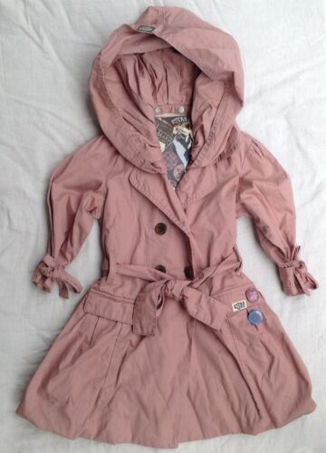 New with Tags Girls E3M Eeni Meeni Balloon Trench Coat Size 2 RRP $150
