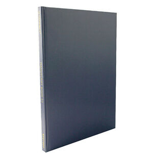 A4 Manuscript Books Hardback Feint Ruled 192 Page Paper Notebook Memo Pad