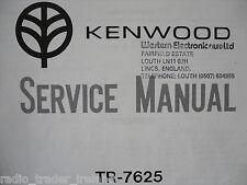 Kenwood (trio) tr-7625 (Manual de servicio solamente)............ radio_trader_ireland.