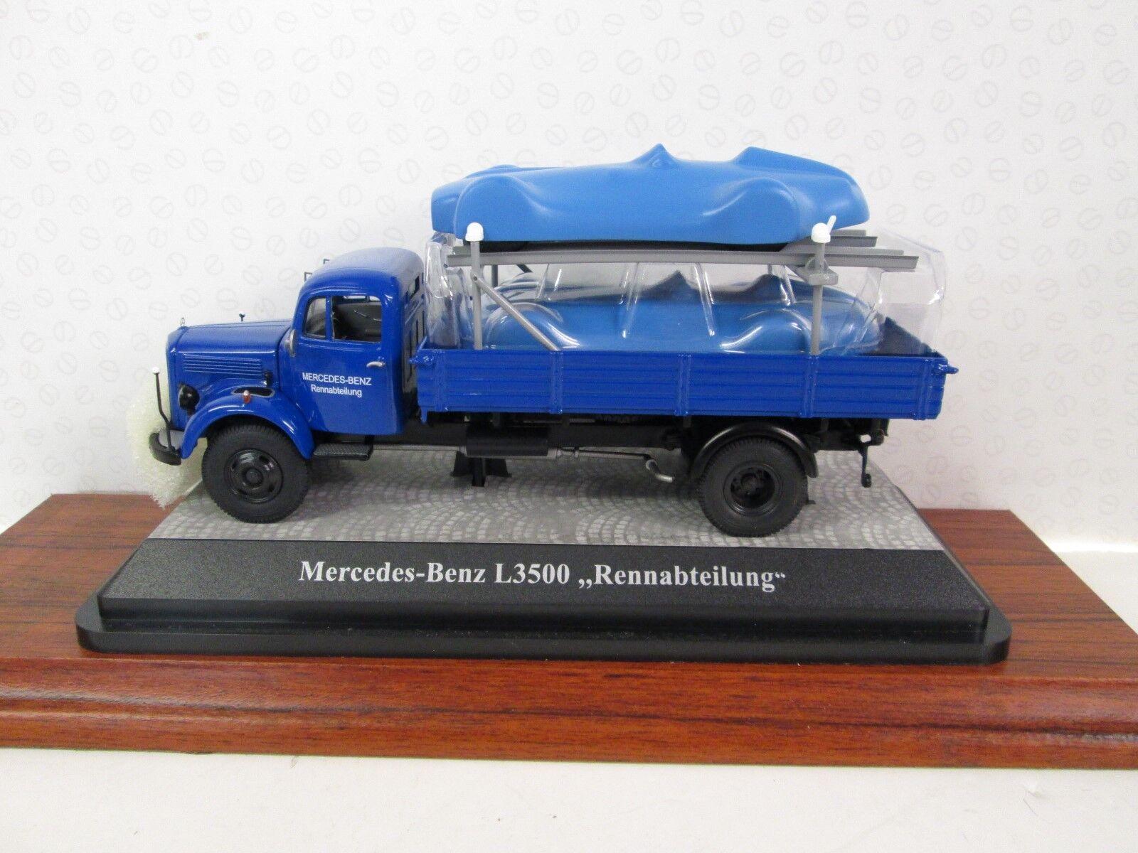 Premium Classixx. Mercedes Benz L 3500. Caja Camión. Azul. Ltd Ed.143.12459