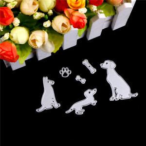 dog-with-bones-scrapbook-cuttings-dies-metal-die-cuts-for-diy-scrapbooking-ly-S
