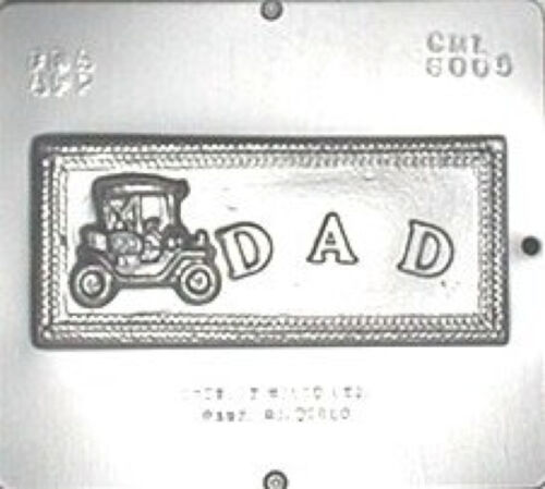 """/""""Dad/"""" Chocolate Candy Mold 6005 NEW"""