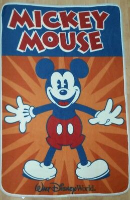 Mickey Mouse Mouseketeer 60x40 inch Disney Throw Blanket