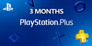 PSN-3-Month-PlayStation-PS-Plus-PS4-PS3-Vita-6-X14-Days-Accounts-NO-CODE