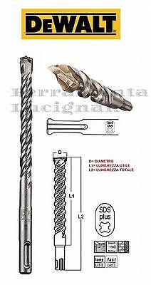 SDS PLUS 1 pezzo Punte da trapano per pietra 1 160 x 4 mm 2 taglienti