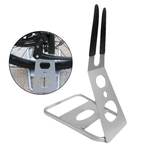 Details about  /Solid Bicycle Parking Rack Floor Type Hub Mounted Floor Parking Stand for