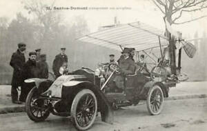 OLD-LARGE-PHOTO-AVIATION-HISTORY-Pioneer-aviator-Alberto-Santos-Dumont-c1900-11