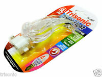 Clear Swan Night Lights On/Off Switch Bright White Light Wall Plug Home Safety