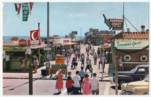 Details About Redondo Beach Ca Main Entrance To Fisherman S Wharf Vintage Postcard 977
