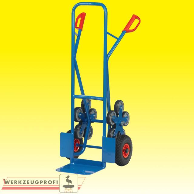 FETRA Stahlrohr-Treppenkarre TK1327 200 kg Tragkraft  Transportkarre Sackkarre