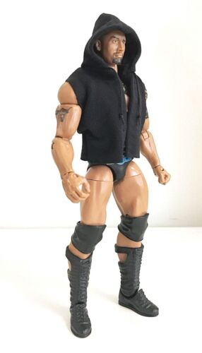 NOX-SST-L Black FIGLot Sleeveless Hoodie for Mattel Wrestling Mezco One:12