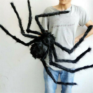 NEW-30cm-Fake-Spider-Black-Toy-Halloween-Large-Funny-Joke-Prank-Props-Party-Gift